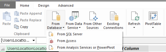 PowerPivot Connection